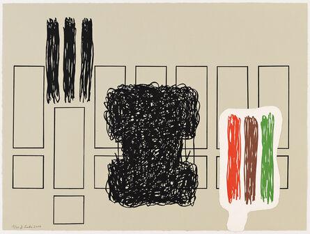 Jonathan Lasker, 'Dat is dot', 2000