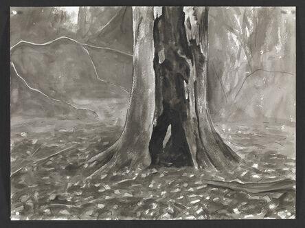 George Shaw (b. 1966), 'Wounded Tree III ', 2015