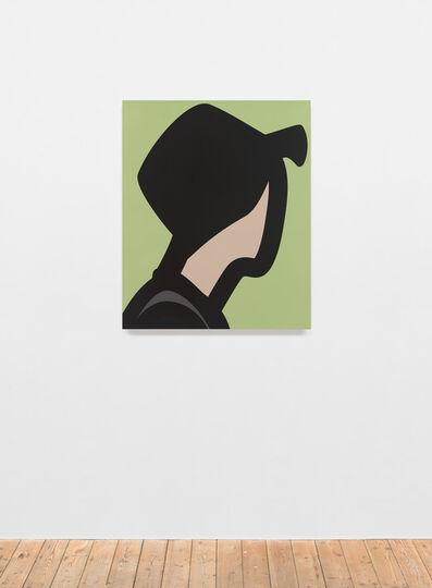 Julian Opie, 'Man with felt hat', 2015