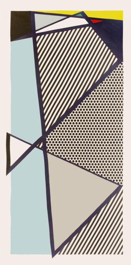 Roy Lichtenstein, 'Roy Lichtenstein, Imperfect Print for B.A.M, woodcut, screenprint, 1987, signed', 1987