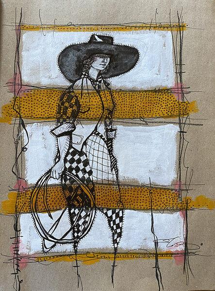 Cheryl Gross, 'Line Dance', 2021