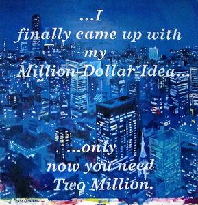 David Kramer, 'Get's Late Early (Million Dollar Idea)', 2016