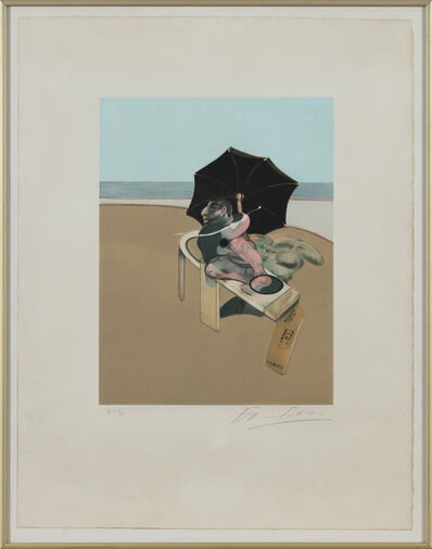 Francis Bacon, 'Triptych 1974-1977 (right hand panel)', 1981