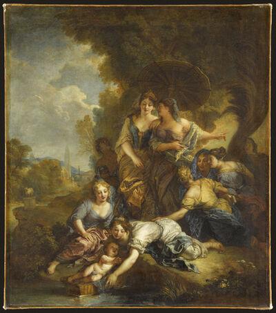 Charles de La Fosse, 'Moïse sauvé des eaux (The Finding of Moses)', 1701