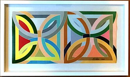 Frank Stella, 'Frank Stella at Leo Castelli (Hand Signed and Dated)', 1969