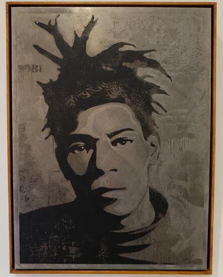 Shepard Fairey, 'Basquiat ', 2010