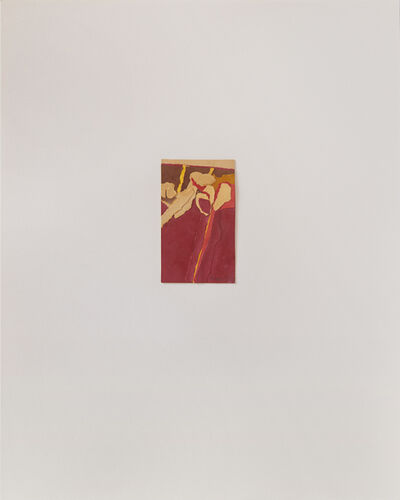 James Moore, 'Untitled III (red)', 1978