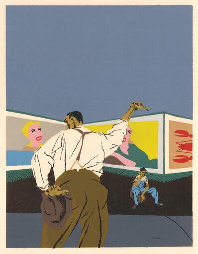 Robert Gwathmey, 'The Hitchhiker ', 1937