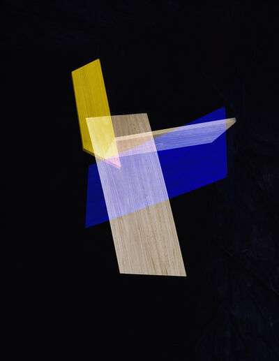 Alejandra Laviada, 'Blue, Yellow Intersection', 2014
