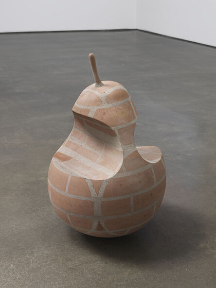 Judith Hopf, 'A pear with two bites', 2019