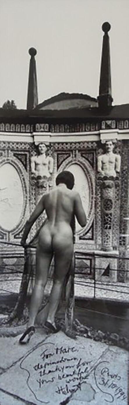 Helmut Newton, 'Panoramic Nude', 1989