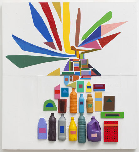 Chris Johanson, 'Co-exist in Exist', 2011