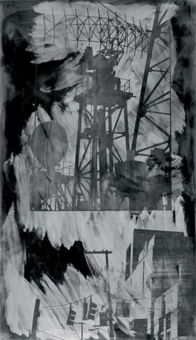 Robert Rauschenberg, 'Intersection (Night Shade)', 1991