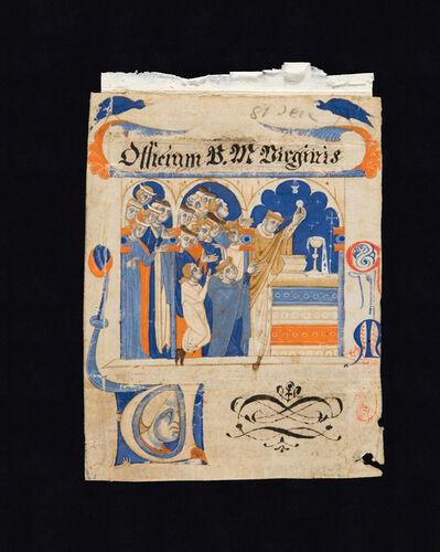 Maestro delle Decretali di Lucca, 'Elevazione dell'ostia', 13th century