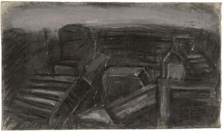 Leon Kossoff, 'City Rooftops ', 1957