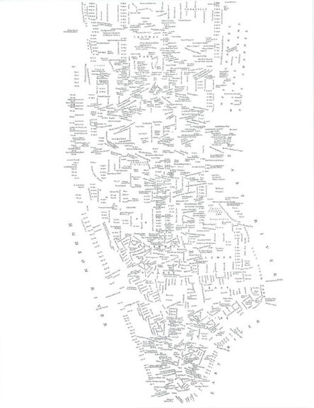 Kim Rugg, 'Manhattan 1964', 2015