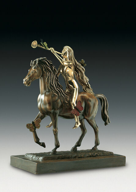 Salvador Dalí, 'Lady Godiva With Butterflies', Conceived in 1976-First Cast in 1984