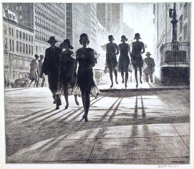 "Martin Lewis, '""Shadow Dance""', 1930"