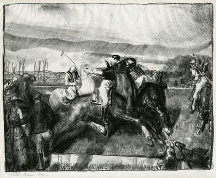 George Bellows, 'Polo Sketch', 1921