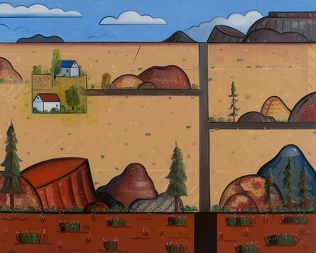 Richard Thompson, 'A Place East of Tijeras', 2015