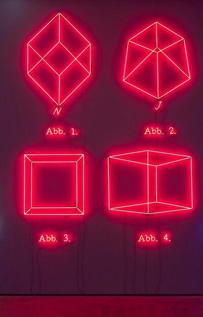 Joseph Kosuth, ''1,2,3,4'', 1993