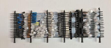 Constance Old, 'Desert series: fridge coil weaving D', 2019