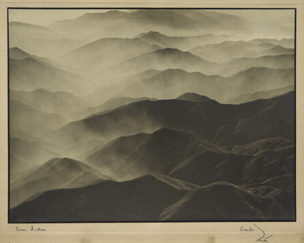 Margaret Bourke-White, 'Sierra Madres, California', 1935