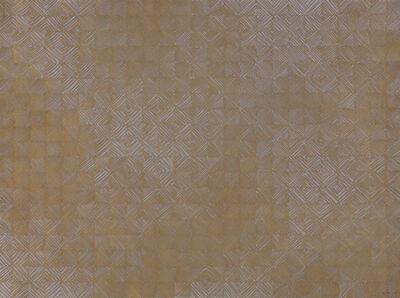 Martin Kline, 'Gold Grid (961222-B)', 1996