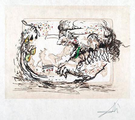 Salvador Dalí, 'La Television (the Television Set)', 1966-1967
