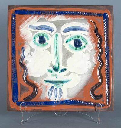 Pablo Picasso, 'Visage aux cheveux bouclés (Curly Haired Face)', 1968-1969