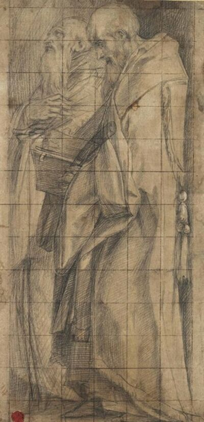 Giorgio Vasari, 'Saints Benedict and Romuald'