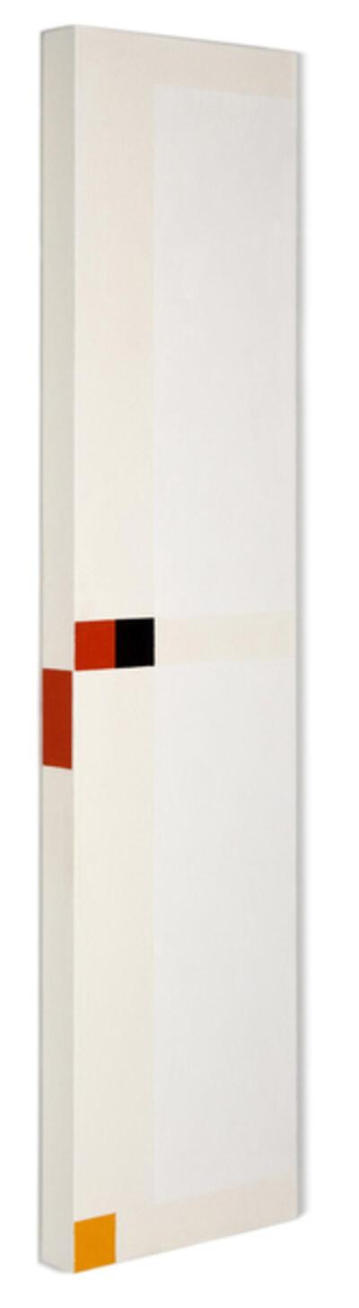 César Paternosto, 'Vertical acorde mínimo,', 2011