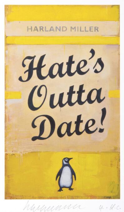 Harland Miller, 'Hate', 2017