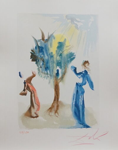 Salvador Dalí, 'Divine Comedy Purgatory Canto 24', 1967