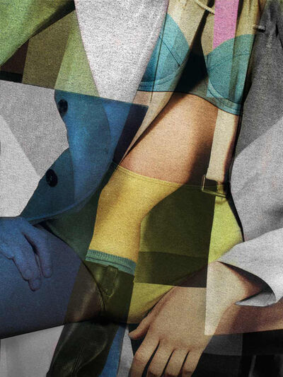 Charles Shotwell, 'Cubist'