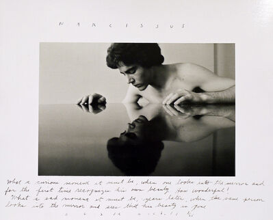 Duane Michals, 'Narcissus ', 1974