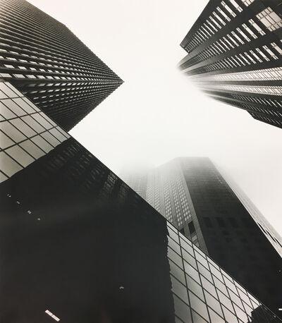 Alex Fradkin, 'Monoliths in Fog #3: Chicago, IL'