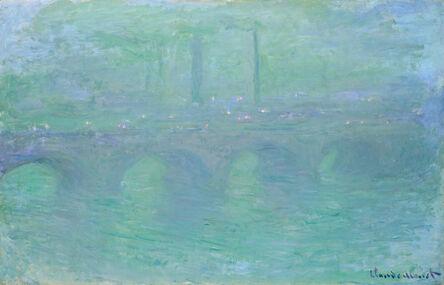Claude Monet, 'Waterloo Bridge, London, at Dusk', 1904