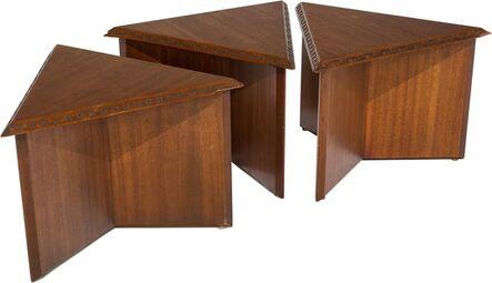 Frank Lloyd Wright, 'Three Side Tables', circa 1955