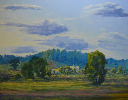 Henry Coe, 'Pasture and Clouds', 2009