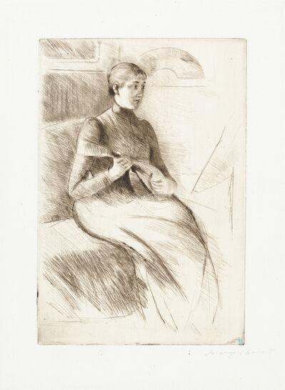 Mary Cassatt, 'The Mandolin Player', ca. 1889
