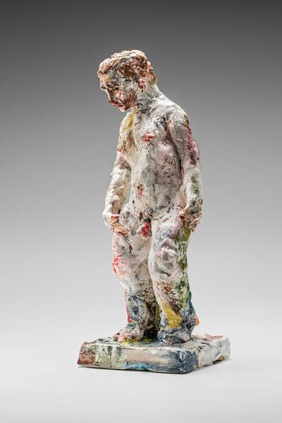 Stephen Benwell, 'Statue (head down)', 2015