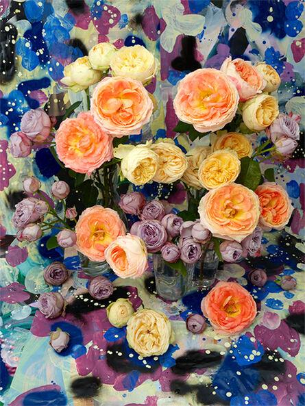 Christopher Beane, 'Garden Rose Color Study V (Baroquecoco Series)', 2019