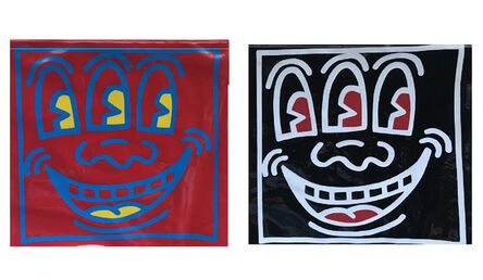 """Keith Haring, '""""Three Eye Zipper Pouch"""", 1980's, POP SHOP NYC, Red or Black', 1980's"""