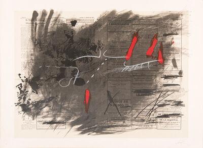 Antoni Tàpies, 'Nocturn Matinal', 1970