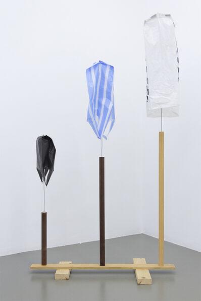 B. Wurtz, 'Untitled (three bags)', 2014