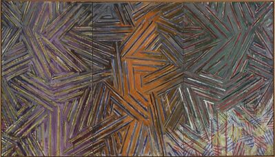 Jasper Johns, 'Between the Clock and the Bed', 1982-1983