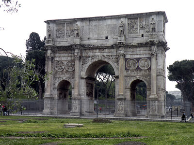 'Arch of Constantine', 312 -315 CE