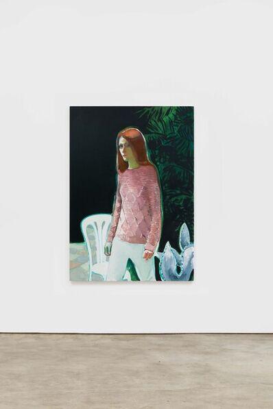 Jonathan Wateridge, 'White Chair', 2018