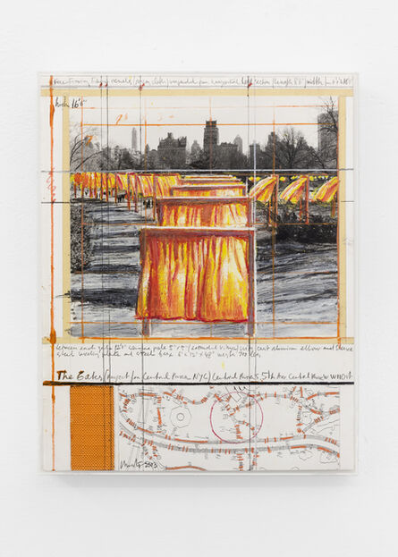 Christo, 'The gate (Project for Central Park)', 2003